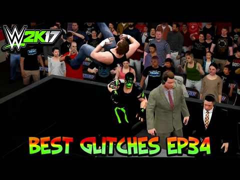 WWE 2K17 Best Glitches & Funny Moments Ep34