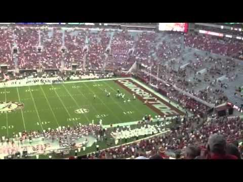 Florida Atlantic Scores Against The Alabama Crimson Tide