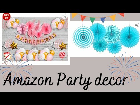 Amazon Party decor !! Party decoration haul from Amazon #Urbanlife #amazonhaul