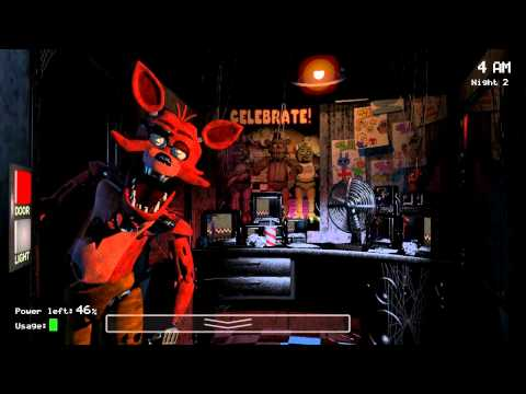Five Nights at Freddy's Gameplay and Commentary