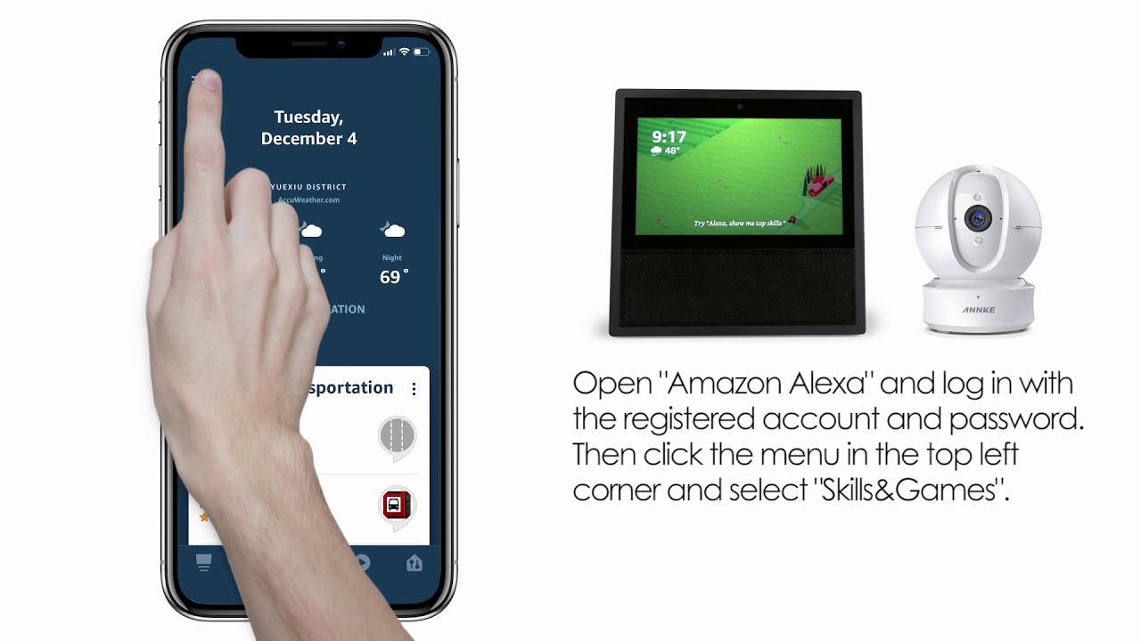 How to Connect ANNKE Nova Orion to Amazon Alexa