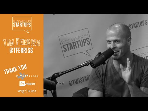 Tim Ferriss on what inspires him to write daily, invest mindfully, and push his body to the limits