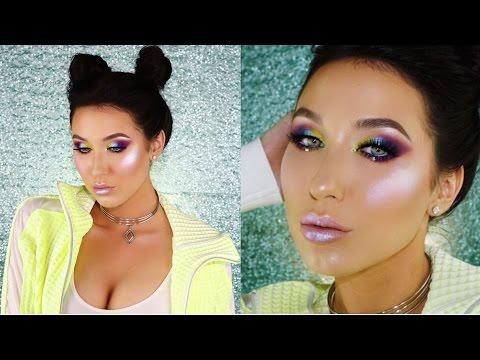 Slay The Rainbow Makeup Tutorial | Jaclyn Hill