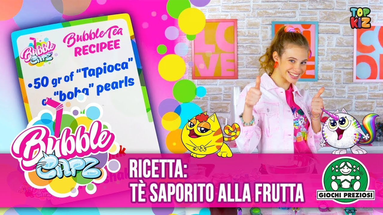 Giochi Preziosi | Bubble Catz - Ricette - Tasty Fruit Bubble Tea
