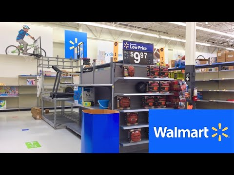 WALMART EXERICISE FITNESS EQUIPMENT WEIGHTS SHOP WITH ME SHOPPING STORE WALK THROUGH 4K