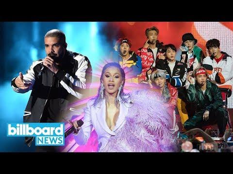 Cardi B, Drake & BTS Among Billboard Music Awards Nominees   Billboard News Mp3