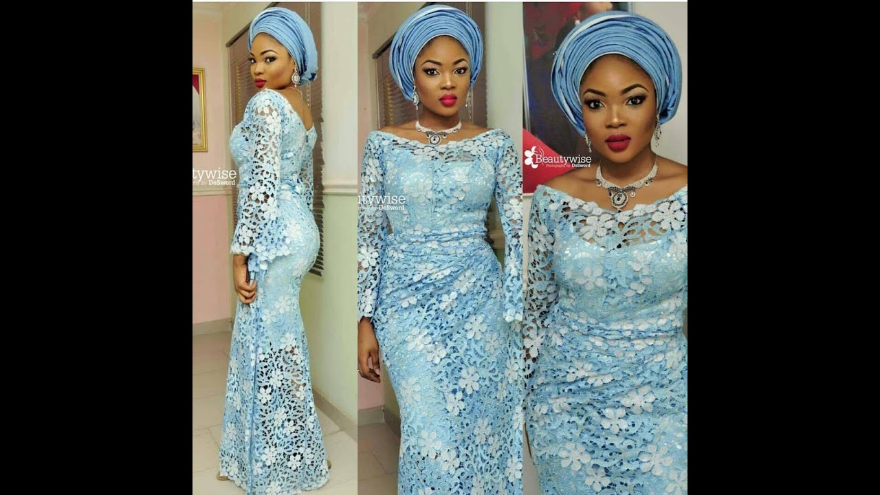Beautiful Nigerian Aso Ebi Styles For Wedding Guests