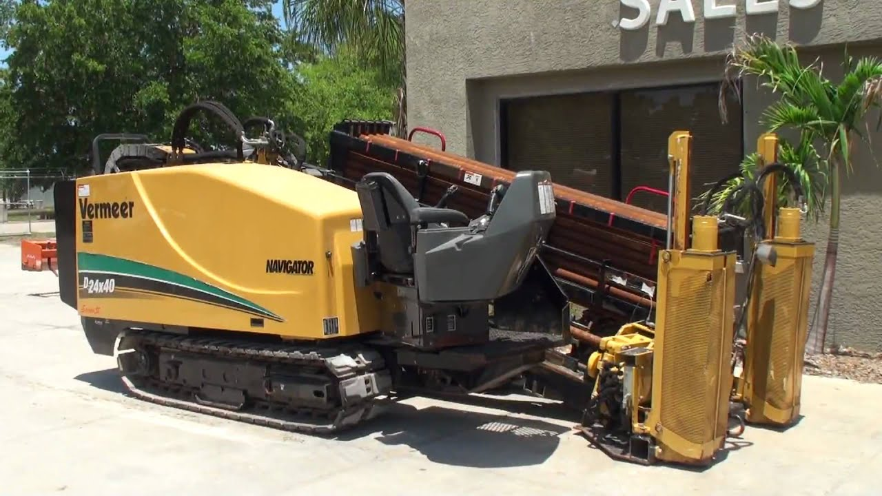 2006 Vermeer D24x40 Series 2 Directional Drill Boring