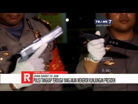 Jawa Barat 24 Jam: Polisi Tangkap Terduga Teror Presiden, Presiden Tutup Festival Keraton Nusantara