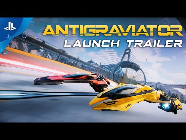 Antigraviator - Console Launch Trailer   PS4