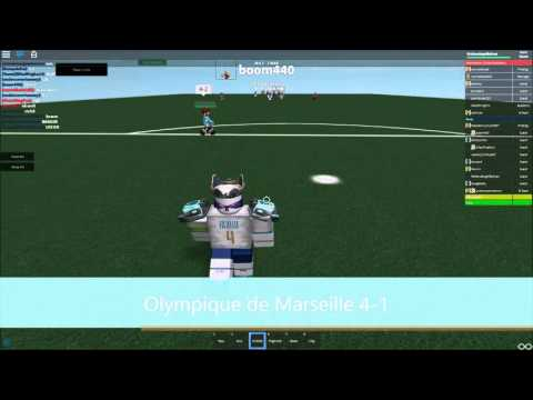 Olympique de Marseille Vs Manchester United F.C Soccer [Ro Soccer]