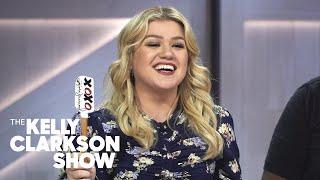 Trisha Yearwood, Erin Moriarty &amp Kelly Make Shrimp Quesadillas  The Kelly Clarkson Show