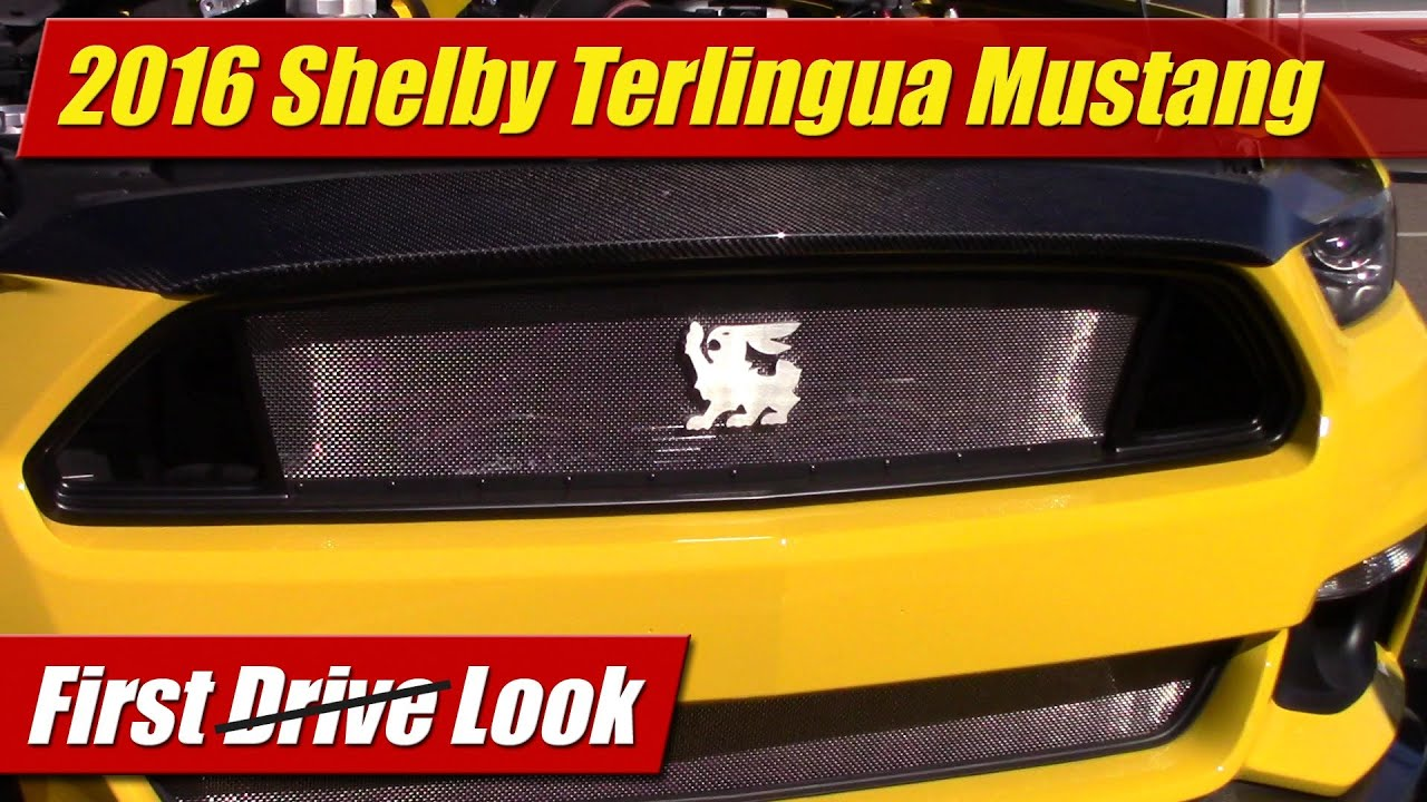 First Look: 2016 Shelby Terlingua Mustang