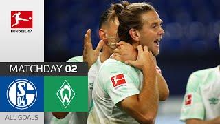 #s04svw | highlights from matchday 2!► sub now: https://redirect.bundesliga.com/_bwcs watch all goals of fc schalke 04 vs. sv werder bremen 2 o...