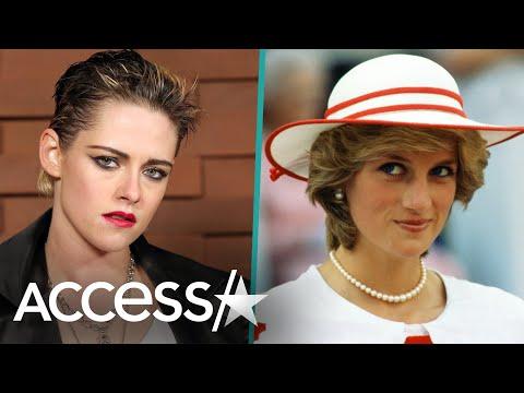Kristen Stewart Says Playing Princess Diana Is 'Intimidating'