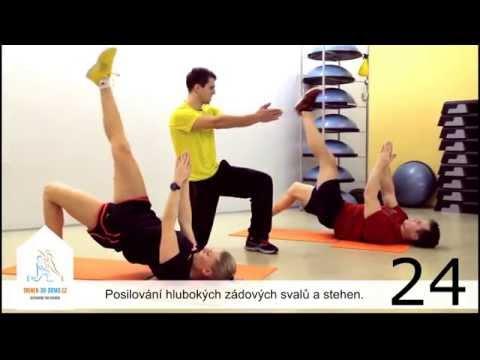 CVIČENÍ DOMA - CORE (4. Fitness video-trenink - zkrácená verze)