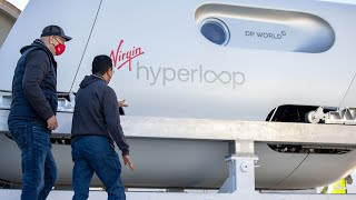 DP World | Virgin Hyperloop | First Passenger Jour...