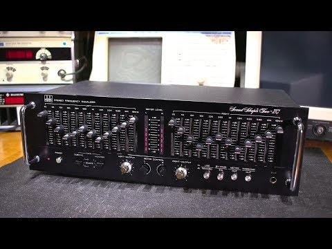 Electronic Repair- Stereo Audio Equalizer From The 1980s!