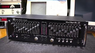 Electronic Repair- Stereo Audio Equalizer From The 1980's!
