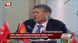 Kırgızistan'dan FETÖ'ye hiç ummadığı darbe!