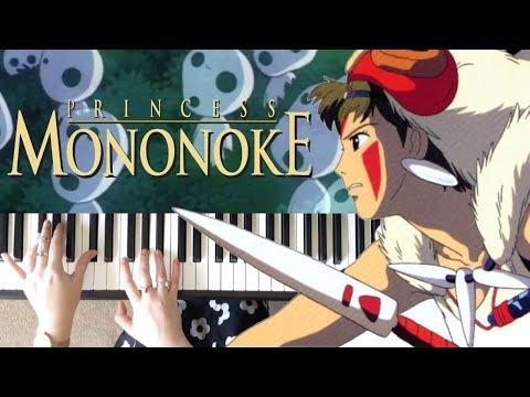 Ashitaka and San  Princess Mononoke  PIANO