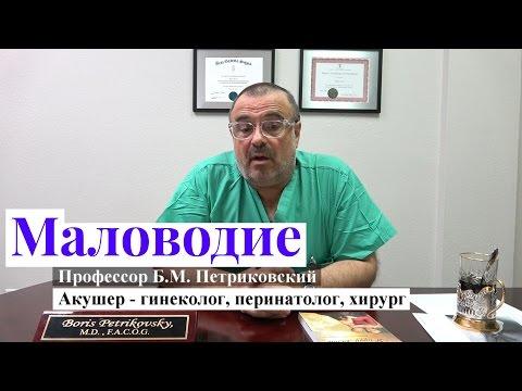 Маловодие - интервью с профессором Петриковским о родах в США