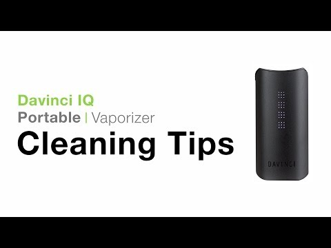 DaVinci IQ Cleaning Tips