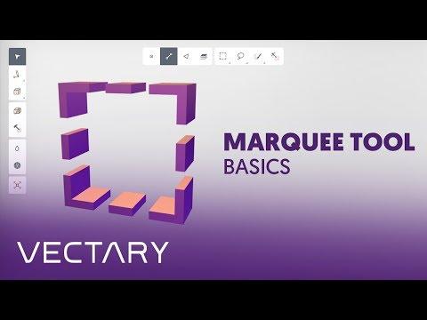 VECTARY | Marquee tool basics