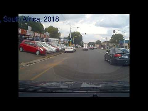 Drive with me down Jules Street, Johannesburg, South Africa mp4  new