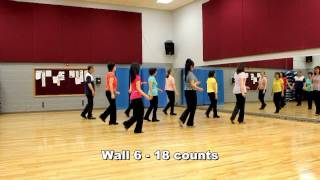 Angel of The Night - Line Dance (Dance & Teach in English & 中文)