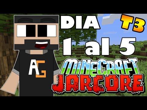Minecraft Jarcore T3 del dia 0 al 5