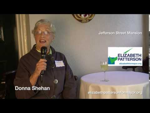 Donna Shehan is voting for Elizabeth Patterson 2016