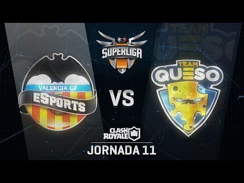 SUPERLIGA ORANGE - VALENCIA CF ESPORTS VS TEAM QUESO- Jornada 11 - #SuperligaOrangeCR11