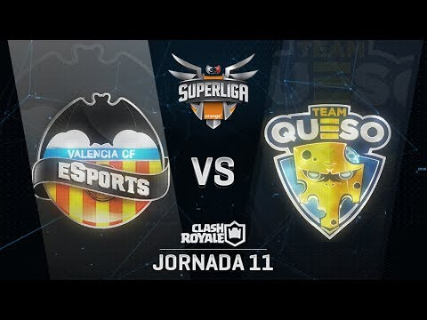 SUPERLIGA ORANGE - VALENCIA CF ESPORTS VS TEAM QUESO- Jornada 11 - #SuperligaOrangeCR11