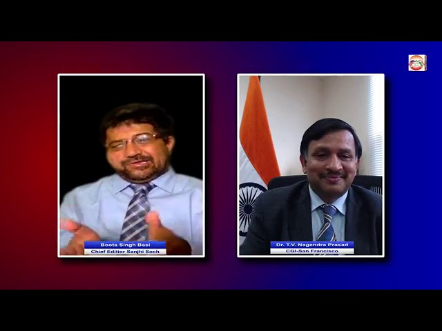 Interview with Dr. T.V. Nagendra Prasad, Consul General of India- San Francisco by Boota Basi