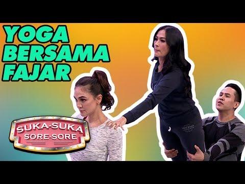 Jadi Bugar! Luna, Ayu, Melanie Dan Iis Yoga bersama Fajar - Suka Suka Sore Sore (31/1)