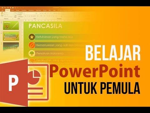 Tutorial Cara Membuat Presentasi PowerPoint untuk Pemula
