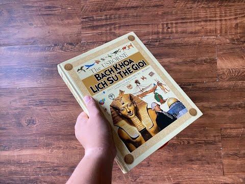 Review sách lịch sử thế giới minh hoạ siêu đẹp cho anh em