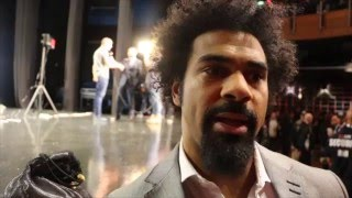 DAVID HAYE - 'DILLIAN WHYTE WOULD 100% BEAT ANTHONY JOSHUA IN A STREET FIGHT. HE'D KICK HIS LEGS IN'