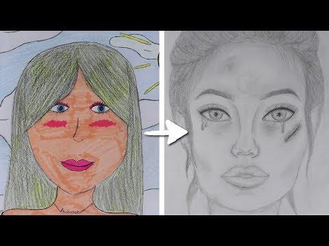 mon-evolution-en-dessin!♡