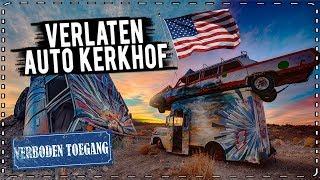 VERLATEN AUTOKERKHOF/DORP/HOTEL in AMERIKA!