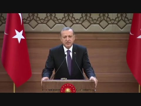 Public speaking- great speech of Erdogan(turkish language)