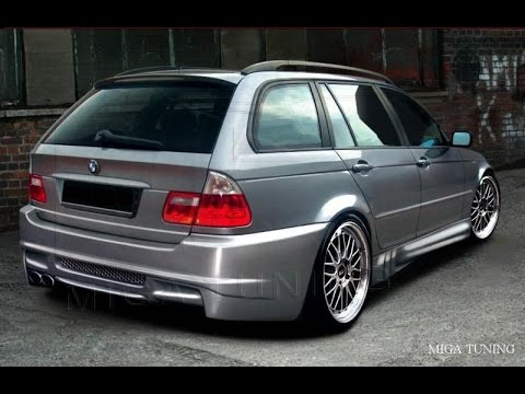 bmw 3 series e46 touring tuning body kit youtube. Black Bedroom Furniture Sets. Home Design Ideas