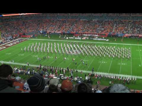 2010 Pro Bowl Halftime Show | BCU Marching Wildcats [HD]