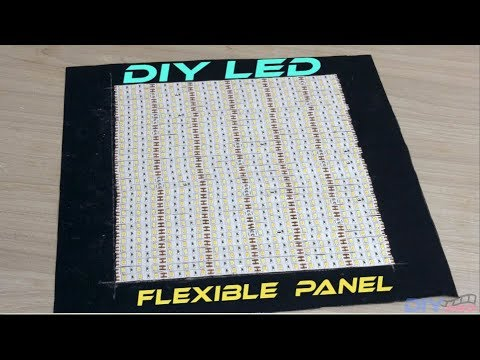 How to Make Flexible LED Panel [DIY PRo Light]