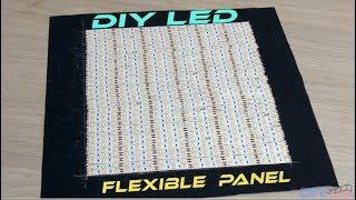 How to Make Flexible LED Panel [DIY PRo Light]