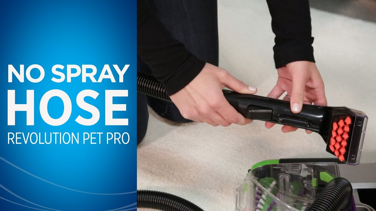 No Spray At Hose How To Videos Proheat 2x Revolution Pet Pro