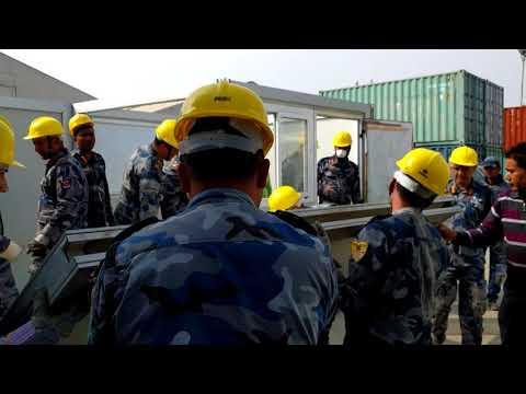 WFP Practical Emergency Logistics Training, Nepal