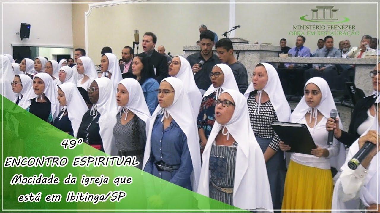 49� Encontro Espiritual - Mocidade da igreja que est� em Ibitinga/SP Culto de S�bado