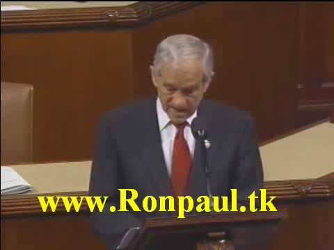 Ron Paul greatest speech